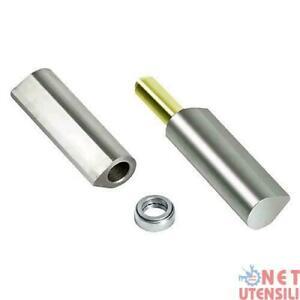 Cerniere da saldare in ferro zincato a 3 ALI perno sfilabile da 200 mm Cancello