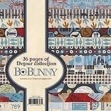 """New Bo Bunny Paper Pad 6"""" x 6""""  Detour"""
