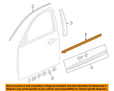 Chevrolet GM OEM-Door Window Sweep-Belt Molding Weatherstrip Left 84325699