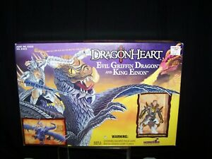 Dragonheart Evil Griffin Dragon and King Eionon Figures 1996 Hasbro