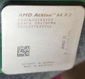 Processeur Cpu AMD Athlon 64 X2 AD05000IAA5D0