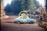 Photo Colin Malkin Works Dealer Team Chrysler Hillman Avenger 1973 RAC Rally