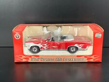 1967 Pontiac GTO Convertible Red 1:24 Scale Diecast Metal Replica - Heatcraft