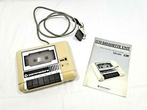 Commodore C2N Datassette Unit Model 1530 Cassette Tape Player w Manual TESTED