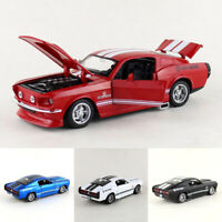 1/32 Vintage Ford Shelby GT500 Model Car Diecast Gift Toy Vehicle Pull Back Kids
