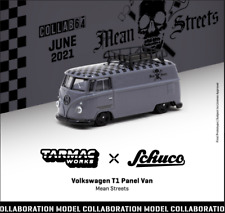 Tarmac Works 1 64 Scale - Volkswagen T1 Panel Van Mean Streets With Metal Oil