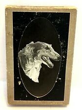 Vintage Deluxe Sovereign Playing Cards Dog Borzoi by Rawcliffe