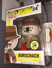 POP Funko Bloody Rorschach Watchmen SDCC 2013 1/480 #24 NIB VERY RARE