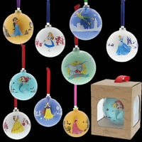 NEW 2019 Range of Disney Christmas Baubles - Enesco Disney Enchanting Collection