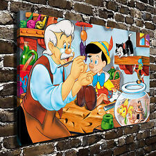 Disney's Pinocchio poster HD Canvas Print Home Decor Paintings Wall Art Pictures