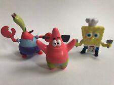 Spongebob Viacom Mcdonalds & Burger King Viacom Happy Meal Toys 2008, 2011, 2012