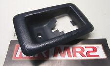 Toyota MR2 MK2 Negro Abridor de liberación de tapa del motor Envolvente-el señor MR2 Piezas Usadas