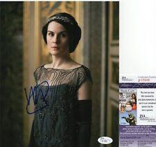 Michelle Dockery Signed 8x10 Photo w/ JSA COA #P17699 Downton Abbey