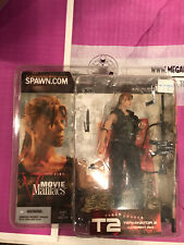 Terminator T2 Sarah Connor McFarlane Movie Maniacs Figure - Pony Tail 2002