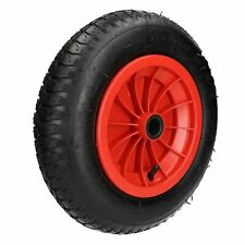 "14"" Red Wheelbarrow Wheel Tyre Launching 3.50 - 8 Light Weight 4ply TE633"