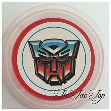 1 x Transformers Jelly Cup (Empty). Party Supplies Lolly Loot Bag Toppers Deco