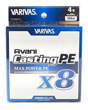 Varivas P.E Ligne New Avani Max Power Casting X8 300m P.E 4 64lb (8593)