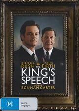 KING'S SPEECH, THE Geoffrey Rush, Colin Firth DVD NEW