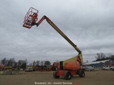 2012 JLG 800AJ 80' 4WD Diesel Boom Lift Man Aerial Platform SkyPower Jib bidadoo
