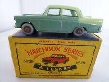 VINTAGE MATCHBOX LESNEY No.29b AUSTIN A55 CAMBRIDGE IN ORIGINAL BOX ISSUED 1961