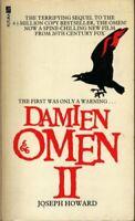 Omen 2-Damien: Omen II by Howard, Joseph Paperback Book The Fast Free Shipping