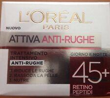 L'OREAL CREMA VISO ATTIVA ANTI-RUGHE 45+