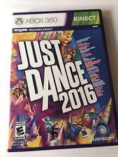 Just Dance 2016 (Microsoft Xbox 360, 2015) No Manual