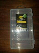 Plano 3400 Stowaway Utility Box Fishing lures Tackle Flys Bait 5 compartments