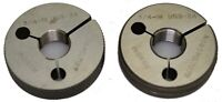 3/4-18 UNS-2A ~ Thread Ring Gage ~ Go Not-Go ~ .750 ~ 18 TPI ~ INGRAM