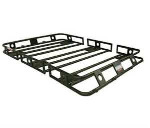 Smittybilt 45505 Defender Roof Rack 4.5 Ft X 5 Ft X 4 In Bolt Together Black