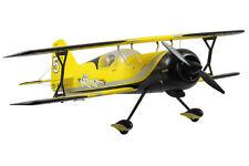 Dynam Pitts Model 12 ARTF Electric Bi-Plane Yellow no Tx/Rx/Bat/Chg