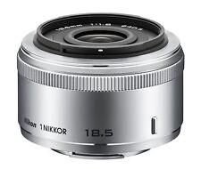 Nikon 1 NIKKOR 18.5mm f/1.8 Silver Lens For Nikon CX Format EMS w/ Tracking