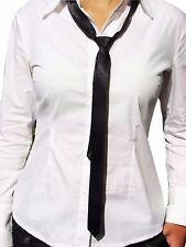 Schmale Herren Damen Krawatte Tie SCHWARZ unisex 5cm breit Hochzeit Konfirmation
