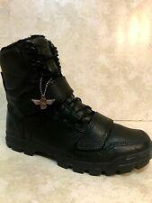 Creative Recreation Men's Black Leather Boots size 10.5