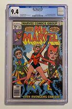 Ms. Marvel #18 CGC 9.4 1978 1st Full Appearance of Mystique Marvel Comics