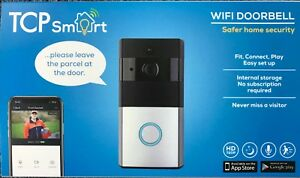 TCP SMART LED Wireless Video Wifi  Door Bell And 2 Way Audio 16GB 720P