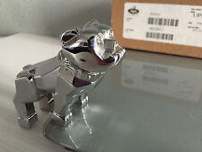 Brand New In Box Genuine Mack Trucks Silver Chrome Bulldog Small Ornament Dog