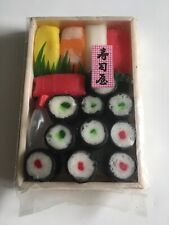 Mini display / fake bento box / sushi from Japan