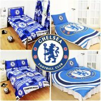 Chelsea FC Football Club England Duvet Cover Set Single Double Bed Kids Adults