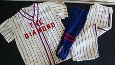 Vintage Mid-Century Little League Baseball Uniform-The Diamond Charleston Wv