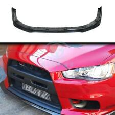 Carbon Fiber For Mitsubishi Lancer Evolution Evo 10 X 2008-12 Ralliart Front Lip