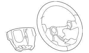 Genuine GM Steering Wheel 20794299