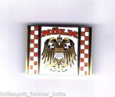 """Köln Pin  """"DOPPELADLER""""  Kutte Fan Ultra Kurve Block +neu+"""