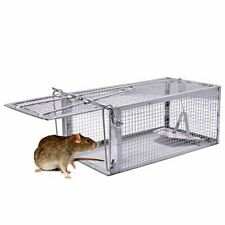 Jgrzf Quality Rat Trap, Humane Live Animal Mouse Cage Traps, Catch and Release M