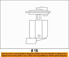 Jeep CHRYSLER OEM 10-17 Wrangler-Fuel Pump 68065575AB