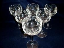 """6 Gorham Bamberg Water Goblets 7 3/8"""" tall -  in MINT Condition"""