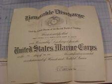Original Vietnam 1968 Usmc Discharge Certificate