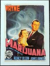 MARIJUANA BIG JIM MCLAIN 1952 ITALIAN FILM MOVIE POSTER PAGE . JOHN WAYNE . 524