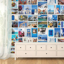 Greece Collage Mural - DIY Interior Home Décor - Designed and Made in UK