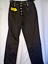 LAWMAN Womens Western Jeans Size 3 World Class Denim Rodeo Boot Slim Fit Black
